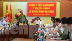 Bộ trưởng Tô Lâm dẫn đầu Đoàn kiểm tra phòng chống tham nhũng trên Tây Nguyên