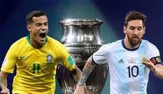 Lịch thi đấu bán kết Copa America 2019: Brazil đại chiến Argentina