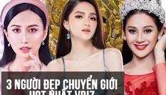 Ba mỹ nhân chuyển giới hàng đầu showbiz Việt, Hương Giang vẫn là 'tường thành'