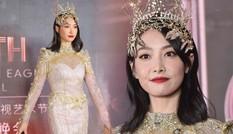 Nữ thần Kim Ưng 2020 bị chê thảm họa, dân mạng nhiệt tình 'ném đá' vì bộ váy quê mùa