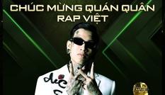 Dế Choắt vượt qua GDucky trở thành quán quân Rap Việt, khán giả 'sốc' trước kết quả