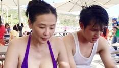 Cuộc sống hôn nhân điều tiếng của sao nữ Đài Loan và chồng tuổi cháu