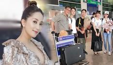 Khánh Thi tìm lại được 4 vali thất lạc khi đi nước ngoài