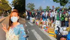 Showbiz 24/3: Võ Hoàng Yến lên tiếng về cảnh xếp hàng tiếp tế lương thực ở khu cách ly