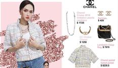 'Choáng váng' khi bóc giá bộ đồ sang chảnh hàng trăm triệu đồng của Hương Giang Idol