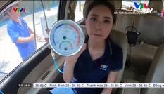 BTV Xuân Anh dẫn bản tin thời tiết đặc biệt trong xe ô tô đóng kín lên đến 57 độ C