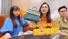 Khán giả 'tròn mắt' trước clip đập hộp hàng hiệu tiền tỷ của 'đại gia'  Hương Giang
