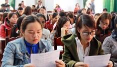 Hà Nội: 2.000 giáo viên hợp đồng vượt qua kì thi viên chức như thế nào
