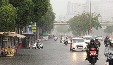 Áp thấp nhiệt đới gây mưa lớn kéo dài