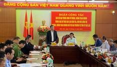 Đại tướng Tô Lâm làm việc tại các tỉnh Tây Nguyên về phòng, chống tham nhũng