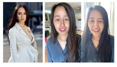 Hoa hậu Mai Phương Thúy tự tin khoe mặt mộc khi livestream
