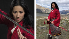 Nhan sắc đỉnh cao của nữ diễn viên đóng thế trong Mulan được khen 'đánh bật' Lưu Diệc Phi