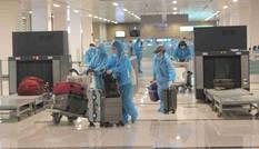 Sân bay Cần Thơ đón hơn 300 công dân về từ Singapore