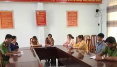 Tạm giữ 6 đối tượng từ Tây Ninh về An Giang bắt giữ người trái pháp luật
