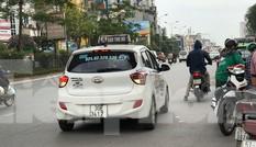 Taxi 'biến hóa' biển số tại Hà Nội do Bắc Ninh quản lý