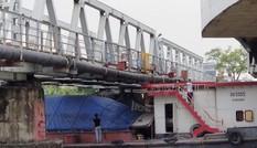 Vụ tàu đâm biến dạng cầu ở Hải Phòng: Xem xét trách nhiệm đơn vị điều tiết đường sông
