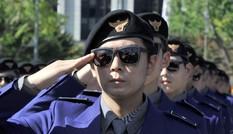 """Lạ kỳ cảnh sát """"Gangnam Style"""" ở Hàn Quốc"""