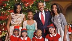 Gia đình Tổng thống Mỹ cùng xem Gangnam Style