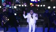 Psy biểu diễn Gangnam Style đốt nóng quảng trường Thời đại