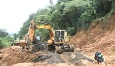 Tháo dỡ chốt cấm đường trên tuyến Hồ Chí Minh đoạn qua Quảng Trị