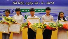 Nhiều bạn trẻ đoạt giải cuộc thi về bảo vệ nguồn nước