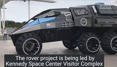 NASA trình làng mẫu xe thám hiểm sao Hỏa giống phim Người Dơi