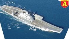 Khám phá INS Vikramaditya - Đối thủ tiềm tàng của tàu sân bay Trung Quốc