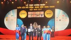 Vietnam Airlines lọt top 10 nhãn hiệu nổi tiếng nhất Việt Nam năm 2017