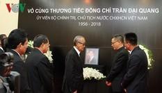 Quốc vương Campuchia chia buồn Chủ tịch nước Trần Đại Quang từ trần