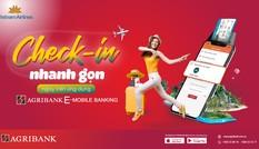 Check-in trực tuyến trong một nốt nhạc với Agribank E-Mobile Banking