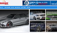 Tinbanxe.vn - chuyên trang mua bán ô tô trực tuyến chính thức ra mắt