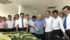 Thường trực Ban Bí thư thị sát tổ hợp trang trại Năng lượng tái tạo Ninh Thuận