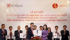 Seabank và KBNN ký thỏa thuận phối hợp thu ngân sách và thanh toán song phương điện tử