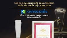 Trao giải Top 50 DN tăng trưởng xuất sắc, Top 10 chủ đầu tư bất động sản uy tín Việt Nam