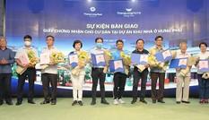 Hưng Phú Invest bàn giao sổ hồng cho khách hàng dự án Thang Long Home – Hưng Phú