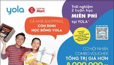 6.000 voucher học tiếng Anh dành tặng khách hàng mua sắm tại LOTTE Mart