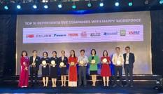 Generali Việt Nam lọt 'Top 10 Doanh nghiệp tiêu biểu có Nguồn nhân lực Hạnh phúc'