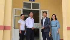 Tập đoàn LS Hàn Quốc tài trợ nâng cấp trang bị đồ dùng, vật phẩm y tế cho phòng y tế học