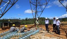 Khẩn cấp gỡ tiến độ cho đường dây 500kV mạch 3 'cấp cứu' điện cho miền Nam