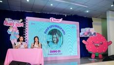Diana cùng Giang Ơi thực hiện chuỗi sự kiện tâm tình tuổi dậy thì tại trường học