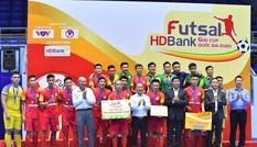 Câu lạc bộ Thái Sơn Nam lên ngôi vô địch Giải Futsal HDBank Cúp Quốc gia 2020