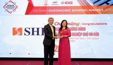 SHB thắng lớn trong lễ trao giải Ngân hàng Việt Nam tiêu biểu 2020