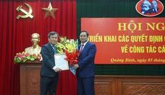 Thứ trưởng Bộ KH&ĐT giữ chức Bí thư Tỉnh uỷ Quảng Bình