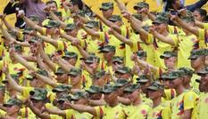 CĐV Colombia gây sốc, đòi FIFA tổ chức đá lại với tuyển Anh