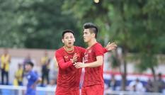 VIDEO: Tiến Linh đá phạt đền, gỡ hòa 2-2 cho U22 Việt Nam