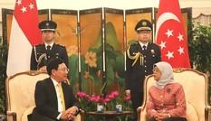 Việt Nam và Singapore chia sẻ nhiều lợi ích chiến lược và tầm nhìn