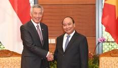 Thủ tướng Việt Nam đánh giá cao thành tựu kinh tế, công nghệ Singapore