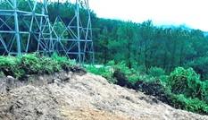 Hoàn thổ điểm đào bới biến đất hành lang lưới điện 500kV thành nghĩa trang