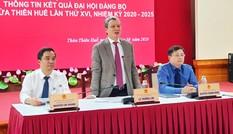Bí thư Tỉnh ủy Thừa Thiên - Huế nói về 11/20 sở, ngành 'khuyết' Tỉnh ủy viên