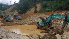 Cận cảnh 'công trường đặc biệt' tại Rào Trăng 3 - nơi phát hiện thi thể vùi dưới sông suối